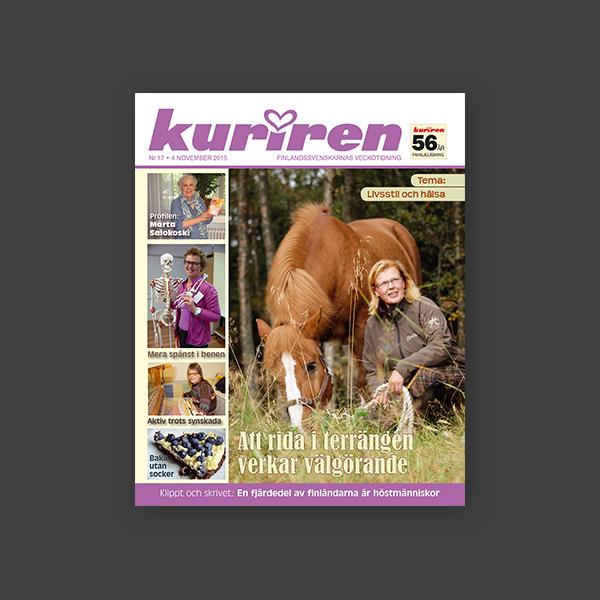 kuriren kustmedia svenskfinland tidning